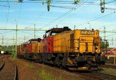 Norge -> Norge: Diesellokomotiver -> Di 8 NSB / CargoNet   Jernbane.net Trondheim, Norway, Trains, Europe, Paths, Iron, Train