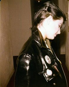 KIRA ROESSLER -1978 (BLACK FLAG, TWISTED ROOTS, DC3, DOS) at Canterbury Apartments. Photo by Alice Bag (BAGS). Kira Roessler's brother Paul Roessler ((SCREAMERS, DEADBEATS!!)) formed TWISTED ROOTS w/her and GERMS' guitarist Pat Smear In 1981. While BLACK FLAG was on hiatus in 1983 Kira's brother formed DC3 w/Dez Cadena & she played w/them briefly before joining BLACK FLAG from 1983 to 1985.. She's been working in the film industry for the last 20 yrs & won an Oscar in 2015.