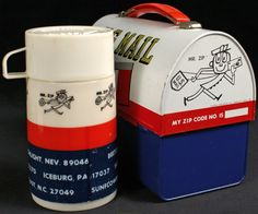 1969 Lunchbox & Thermas