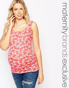 New Look Maternity Butterfly Printed Vest