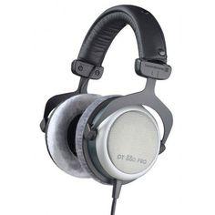 Beyerdynamic DT-880-PRO Semi-open stereo studio headphone with grey velour ear pads