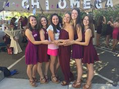 Sisterhood Day 2015 // Cal Poly SLO, Chi Omega