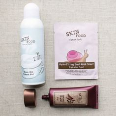 Skinfood - This skincare and makeup brand has the essence of Korean beauty products (with items like milk-face mists and snail-slime masks) and the ingredients of a natural beauty brand.