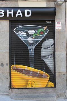 Calle del Duque de Osuna. Conde Duque. Madrid. 2015