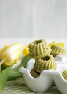 Fräulein Zuckerbäckerin: Matcha-Mini-Gugel und etwas Frühling