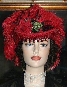 Victorian Hat SASS Hat Riding Hat Sidesaddle by darnasderbyhats