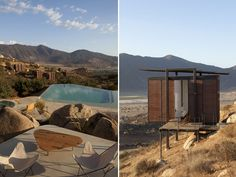 Eco- loft rooms with private terraces and amazing views | Hotel Endémico in wine region Valle Guadalupe, Mexico
