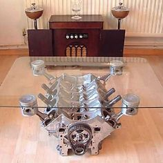 Engine table. I will have one of these in my house