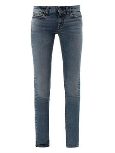 Saint Laurent Low-rise skinny-leg jeans