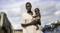 South Sudan food crisis: Surviving on water lilies