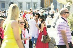 In the city of love! Rome! Özge Serkam Özser  Öykü Ayaz Öyaz Cherryseasonitalia cherryseason kirazmevsimi stinaeqershive