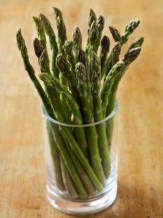 """""""This veggie is densely packed with folic acid, a B-complex vitamin that helps the body utilize protein better, getting it to your hair faster,"""" says Pasquella. """"Just one cup of asparagus has over half of your daily requirement, important since not enough can cause thinning hair."""" Another reason to indulge? It speeds up hair growth""""!"""