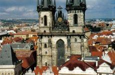 Tyn Church, Hlavni Mesto Praha, Prague, Czech Republic