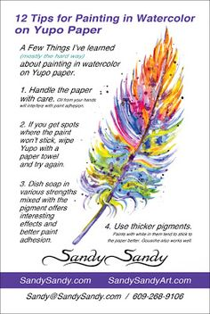 *SANDY SANDY ART*: A FEW THINGS I'VE LEARNED ...MOSTLY THE HARD WAY :-) http://www.sandysandyart.com/2013/08/sizzling-hot-hot-hot-painting.html Alcohol Ink Painting, Alcohol Ink Art, Watercolor Print, Watercolor Paintings, Watercolor Ideas, Watercolour Tutorials, Watercolor Pencils, Watercolor Techniques, Painting Techniques