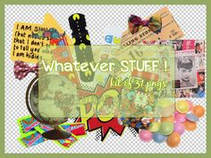 Whatever Stuff Png by sellyourhate.deviantart.com