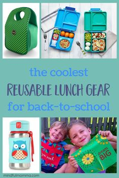 The cool kids guide The cool kids guide to reusable lunch gear: high quality durable lunchboxes lunch bags reusable water bottles snack bags and napkins that both moms and kids love! Lunch Bags, Snack Bags, Natural Parenting, Parenting Ideas, Reusable Water Bottles, Green Living Tips, Healthy Kids, Healthy Living, Keeping Healthy