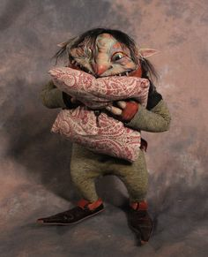 """Excited to See You"" by Toby Froud. He will be part of the exhbit at the Petaluma Arts Center Journeys Through Light and Dark: Dolls as Tellers of Stories. July 23-Sept. 25."