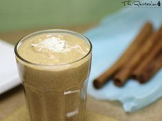 This raw banana chai smoothie is very rich and sweet, almost more of an after-dinner treat than a morning smoothie. Bananas, coconut and cardamom spice are some of key ingredients in this dessert smoothie.