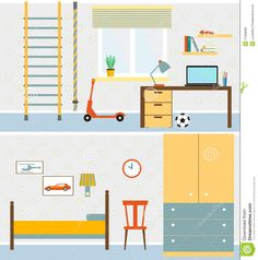 living room illustration - Google Search