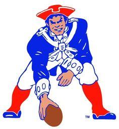 New England Patriots! Football.