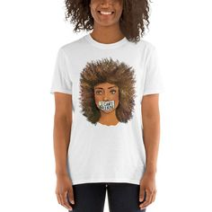 I Can't Breathe George Floyd 2020 T- Shirt Beautiful Woman 1 Dollar of Sales Donated to Charity or Family of George Floyd She Mask, Eric Garner, Small Faces, Cant Breathe, Donate To Charity, I Cant, To My Daughter, Beautiful Women, Unisex
