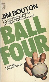 In the script for Masked and Anonymous the character Crew Guy #1 tells a story that comes directly from Jim Bouton's controversial Ball Four: My Life and Hard Times Throwing the Knuckleball in the Big Leagues.