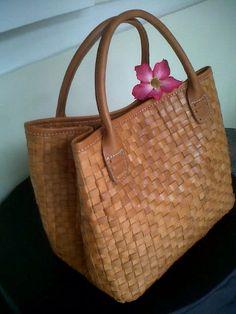 Tas Seminar Batik Portrait-3 | budget canvas or #batik #tote bag ...