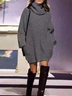 M/&S/&W Womens Mock Neck Classy Solid Color Linen Classics Pullover Tunic Tops