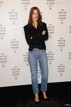 MARINE VACTH. So effortless, simple, chic and french. Love it