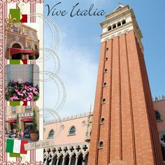 Italy layout - Page 3 - MouseScrappers.com