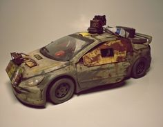 my vision post-apocalyptic battle car:) in scale, I use old model peugeot 307 wrc Apocalypse World, Apocalypse Art, Metal Toys, Car Drawings, Old Models, Mad Max, Future Car, Armored Vehicles, Rc Cars