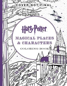 Harry Potter Magical Artifacts Coloring Book Coloring Books Wand