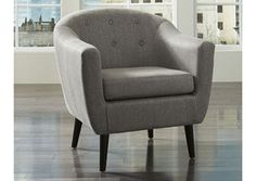 Klorey - Charcoal - Accent Chair by Signature Design by Ashley. Get your Klorey - Charcoal - Accent Chair at Penland's Furniture, Swannanoa NC furniture store. Parks Furniture, Furniture Direct, Furniture Decor, Living Room Furniture, Furniture Stores, Green Furniture, Furniture Plans, Kitchen Furniture, Office Furniture