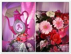 alice wonderland wedding centerpiece - Cerca con Google