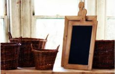 Rustic Paddle Shaped Chalkboard, Set Of 2 - Decor Steals~Enjoy Today's Steal from DECOR STEALS
