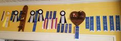 Some of Kahns ribbons