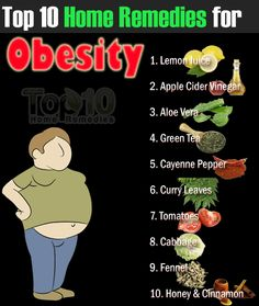 Easy to use home remedies for obesity :)