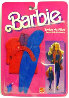 1985 Barbie - (Twice As Nice Fashions) #