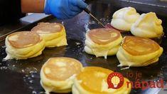 Japonské lievance ako obláčik nadýchané: Tak jemné cesto som v živote nejdela – a nejde do nich žiadne droždie! Paleo Breakfast, Breakfast Recipes, Dessert Recipes, Desserts, Food N, Food And Drink, Souffle Pancakes, Japanese Street Food, Snacks