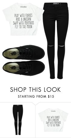 """Untitled #993"" by nanahehe95 ❤ liked on Polyvore featuring Vans"