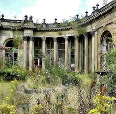 Derelict Ballroom.. Trentham, Stoke-on-Trent, England | Flickr - Photo by Lazenby43