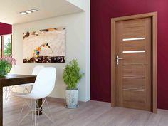 DVEŘE: Laminované dveře SYDNEY ALU s ozdobnou hliníkovou lištou | SIKO Sydney, Divider, Room, Diy, Interiors, Furniture, Home Decor, Bedroom, Decoration Home