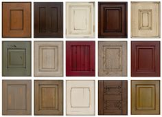 cabinet finishes | Customers can choose from thousands of design and finish combinations ...