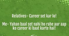 Desi humour - career woes  #desikids Desi Humor, Career, Humor, Carrera, Freshman Year