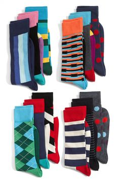 colorful socks #Rackupthejoy