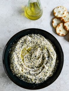 Everything White Bean Hummus I howsweeteats.com