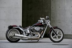 Planet Japan Blog: Hot-Dock Custom Cycles Harley FXSTC 2003