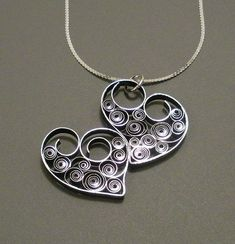 Quick And Easy DIY Necklace Tutorials | How To Make Heart Shaped Metal Jewelry By DIY Ready http://diyready.com/diy-necklaces-diy-jewelry/