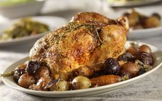Roasted Chicken & Herb Vegetables  Rudi Sodamin, A Taste of Elegance Cookbook - Holland America cruise line recipe
