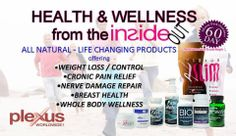 Over all wellness, weight loss, aches in pains, lower blood pressure, balanced sugar levels, be free of arthritis pain, contact me and I will help you with all of this.